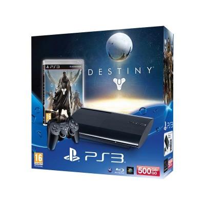 Playstation 3 With Destiny Hard Bundle