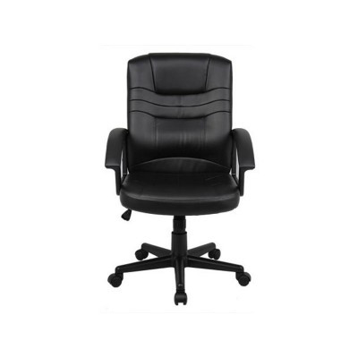 Kruse Faux Leather Office Chair with Deep Foam Cushioning -