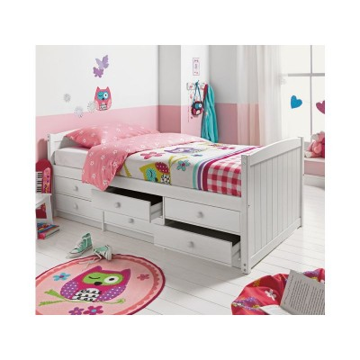 09H FINN 6 DRAWER CABIN WHITE DYLAN