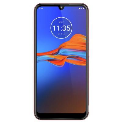 SIM Free Motorola E6 Plus 32GB Mobile Phone - Cherry Red