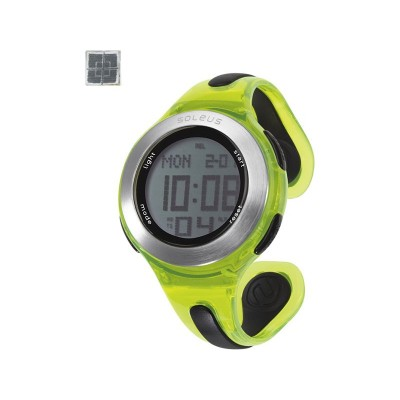 Soleus Swift Unisex Sports Watch - Black and Lime