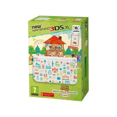 Nintendo 3DSXL Console & Animal Crossing Happy Home Designer