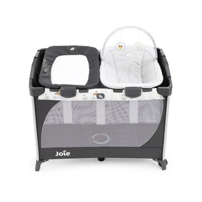 Joie SecureClick Travel Cot - Commuter Change and Snooze