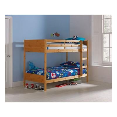 09H LEILA ANTIQUE PINE BUNK BED ASHLEY