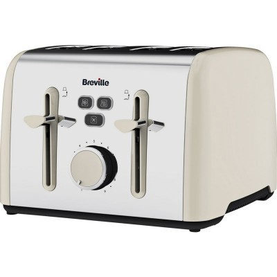 BREVILLE COLOUR NOTES CRM SS 4SL TOASTER