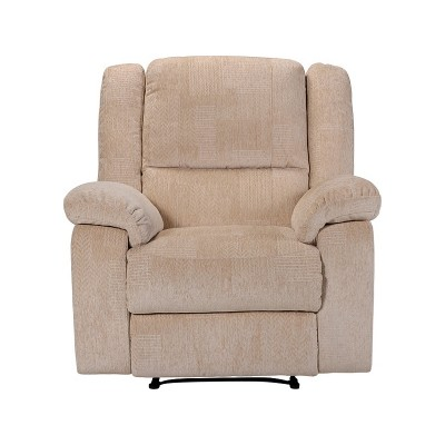 Collection Shelly Fabric Manual Recliner Chair - Natural