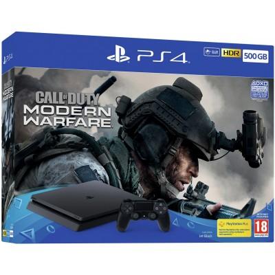 Sony PS4 500GB Console & Call Of Duty: Modern Warfare Bundle