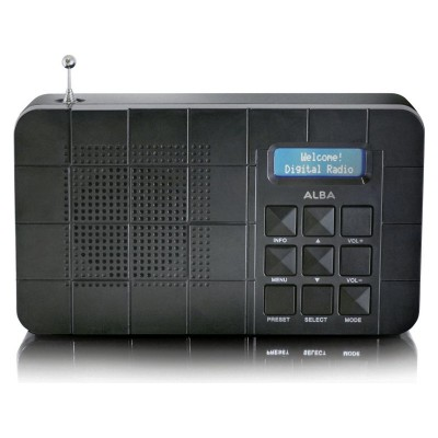 Alba DAB/FM Radio - Black