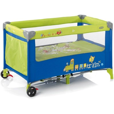 Jane Funny Days Travel Cot - Green