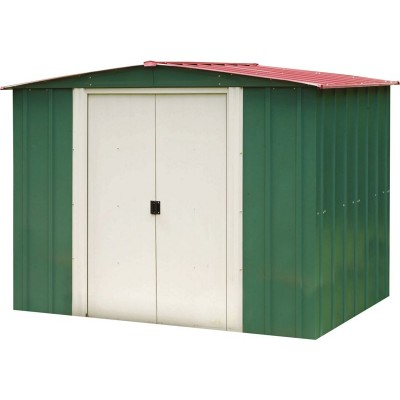 EXP METAL APEX SHED TALL 8X6