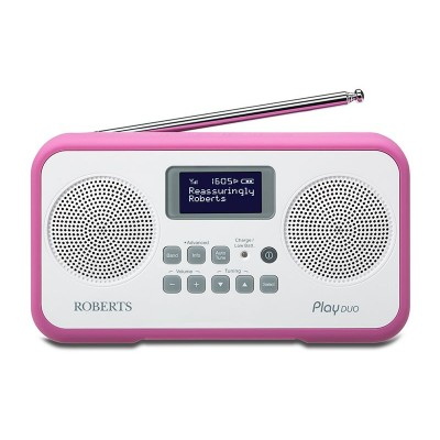 Roberts Radio Play Duo Digital Radio - Purple