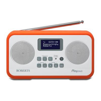 Roberts Radio Play Duo Digital Radio - Orange