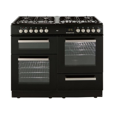 Bush BCLU100DFB Dual Fuel Range Cooker - Black