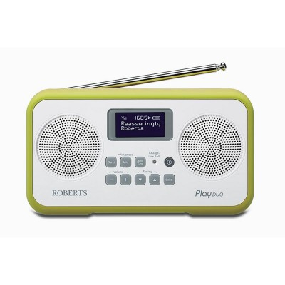 Roberts Radio Play Duo Digital Radio - Green