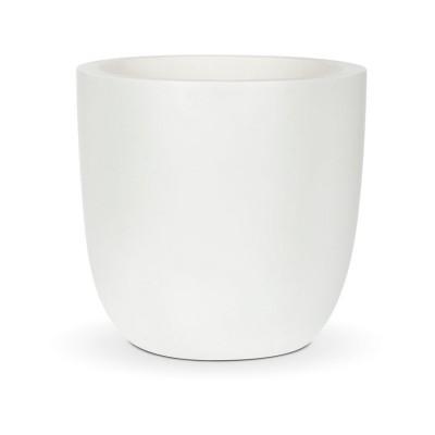 Capi Lux White Planter Egg - 28 x 26cm