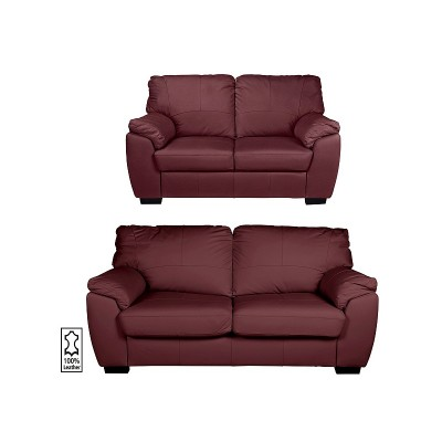 Argos Product Support for Argos Home Milano Leather 2 Seater