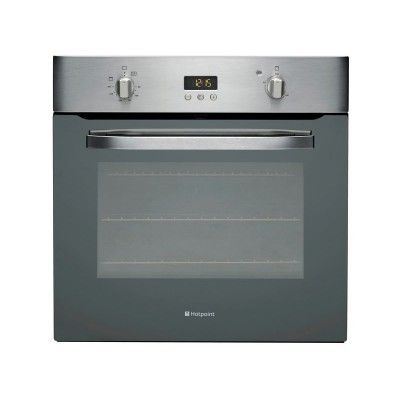 Hotpoint SHS33XS Single Electric Oven - Ins/Del/Rec