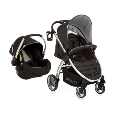 Hauck Lift Up 4 Shop'n Drive Travel System - Black