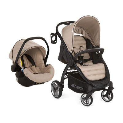 Hauck Lift Up 4 Shop'n Drive Travel System - Sand