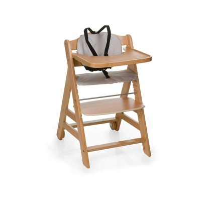 Hauck Beta+ Natural Highchair - Wood