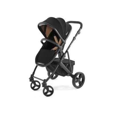 Tutti Bambini Riviera Plus 3in1 Black Pushchair -Black/Taupe