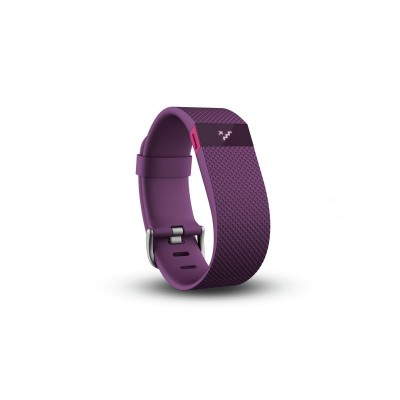 Fitbit Charge HR Large Heart Rate Monitor Wristband - Plum