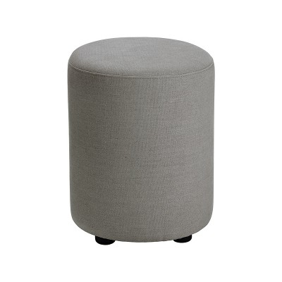 Habitat Emil Upholstered Stool - Grey