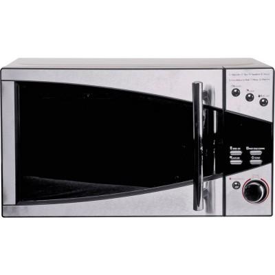 De'Longhi 800W Standard Microwave P80T5A - Black and Silver