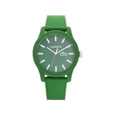 LACOSTE 12.12 GREEN POLO WATCH