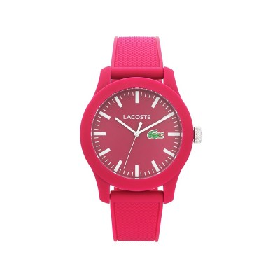 Lacoste Mens' 12.12 Red Polo Strap Watch