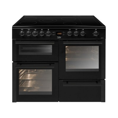 BEKO ELECTRIC RANGE COOKER  BLACK