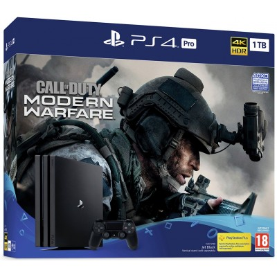 Sony PS4 Pro 1TB & Call of Duty: Modern Warfare Bundle