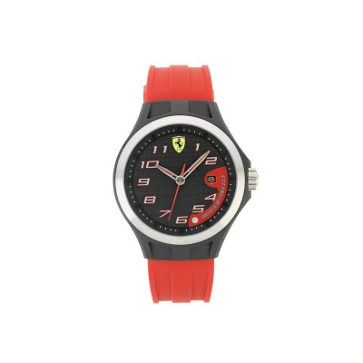 FERRARI SCUDERIA LAP TIME RED STRAP CALL
