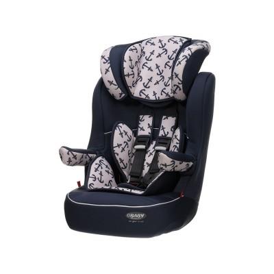 Obaby Group 1-2-3 High Back Booster Car Seat - Little Sailor