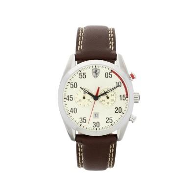 Scuderia Ferrari Mens' D50 Brown Strap Watch
