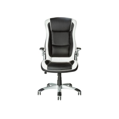 Argos Product Support For Home Dexter Height Adjustable Office Chair Black White 424 2833