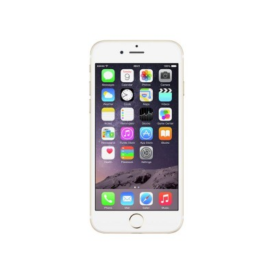 Sim Free Apple iPhone 6 128GB Mobile Phone - Gold