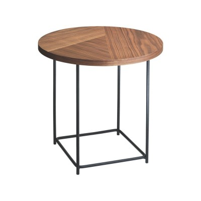 Habitat Coralie Side Table - Walnut