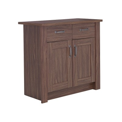 Ohio 2 Door 2 Drawer Walnut Sboard