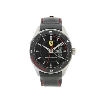 Scuderia Ferrari Mens' Gran Premio Black Strap Watch