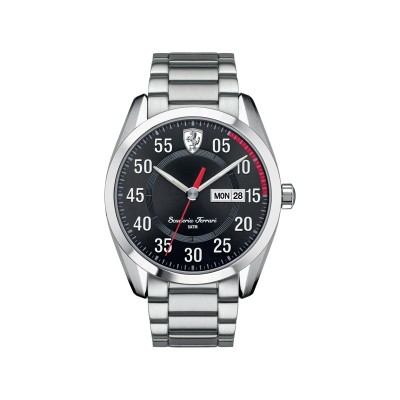 Scuderia Ferrari Mens' D50 Stainless Steel 44mm Watch