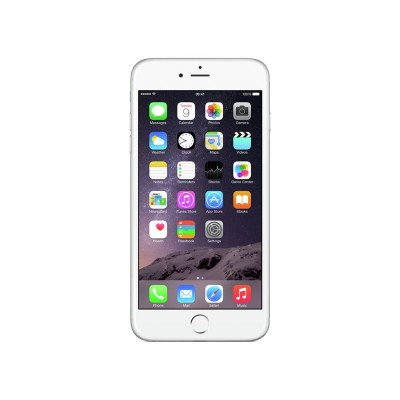 Sim Free Apple iPhone 6 Plus 128GB Mobile Phone - Silver