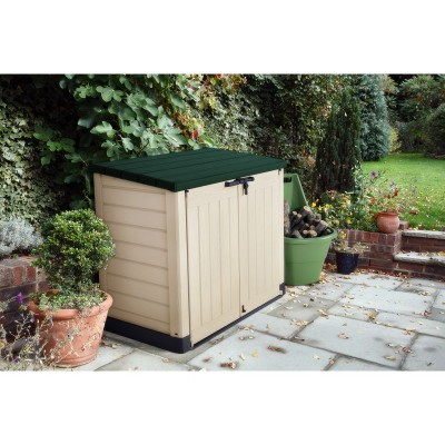 Keter Store It Out Max 1200L Storage Box - Beige/Green