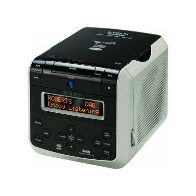 Roberts Sound38 DAB Radio and CD Player - Black / White