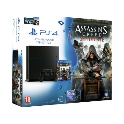 PS4 1TB & AC SYNDICATE & WATCHDOGS
