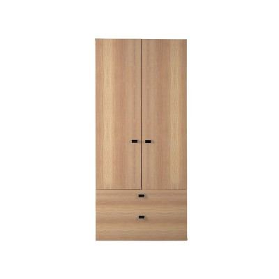 Windermere 2 Door 2 Drawer Robe - Wessor Oak