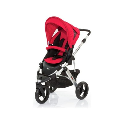 ABC Design Cobra 2-in-1 Pushchair - Silver/Cranberry