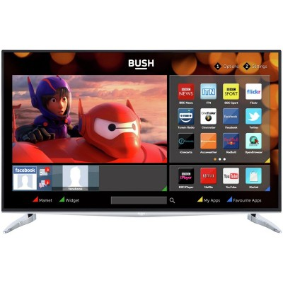 BUSH 40INCH ULTRA HD FVHD SMART LED TV