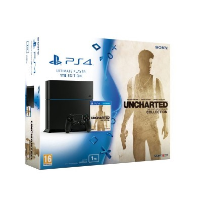 PS4 1TB WITH UNCHARTED BUNDLE