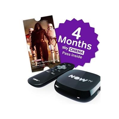 NOW TV BOX 4 MONTH MOVIE PASS